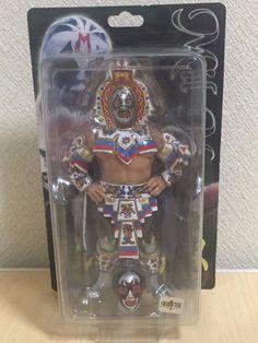 Mil Mascaras Wrestling Figure Charapuro wwe wwf nwo CMLL Lucha Libre  Unopened 52d86e8956e