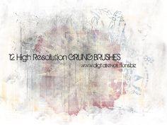 Free Grunge Photoshop Brushes by digitalrevolutions.deviantart.com