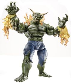 Spider-Man Legends Build-A-Figure Ultimate Green Goblin