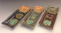 Cracker Tray by PotterybyJessie on Etsy https://www.etsy.com/listing/185005696/cracker-tray