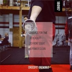"""21 gilla-markeringar, 1 kommentarer - CrossFit Grenoble (@crossfitgrenoble) på Instagram: """"WOD 180917 #CrossFit #Grenoble #CrossFitGrenoble #Wod #Training #OriginalAthlete #smh…"""""""
