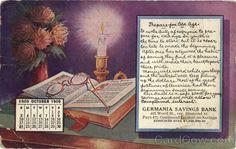 1909 October Germania Savings Bank Pittsburg Pennsylvania