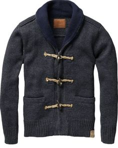 Cardigan - I want to get this for him so I can steal it :-)