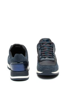 Aneko nyersbőr sneaker textil szegélyekkel - Geox (D943FA022GHC4002) Converse, Vans, New Balance, Adidas Originals, Under Armour, Baby Shoes, Leggings, Sneakers, Shopping