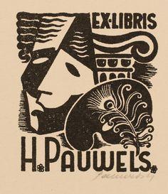 Hedvig Pauwels, Art-exlibris.net