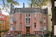 Apartment house, Eira, Helsinki, Finland