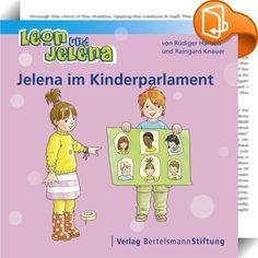 Leon und Jelena - Jelena im Kinderparlament    ::  Die beiden Hauptfiguren Leon und Jelena gehen gemeinsam in den Kindergarten. Hier dürfen sie bei vielen Dingen des Alltags mitentscheiden und mithandeln, so zum Beispiel bei der Frage, wie man das Frühstück besser organisiert, oder wie man den Streit um die Dreiräder, die viele Kinder gleichzeitig benutzen möchten, löst. Dadurch lernen sie viel darüber, wie man eine Gemeinschaft so gestalten kann, dass alle zu ihrem Recht kommen. Die e...
