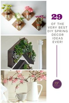 Best  of the Very Best DIY Spring Decor Ideas Ever