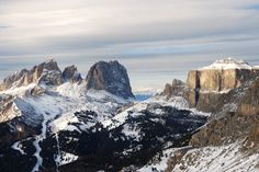 Dolomites probably are the most picturesque place in the Alpes...