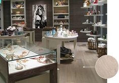 Elle Spa Boutique at Eden Roc Renaissance in Miami, FL, designed by LSID, Inc. featuring European Hardwood Collection  - FLHTG086