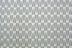 BIO Canvas - Leaves Grey von Stoffsalon auf DaWanda.com