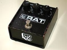 the only kind of rat i'd take everywhere with me Pedalboard, Distortion, Rats, Guitars, Guitar
