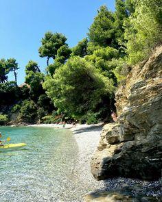Panormos beach, Skopelos Island, Greece