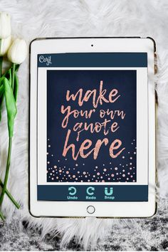 Navy Bedroom Decor, Bedroom Wall, Leaf Template, Art Template, Rose Gold Quotes, Summer Art Projects, Rose Gold Texture, Edit Online, Sunflower Art