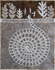 116 Best Warli Images Tribal Art Indian Folk Art Worli