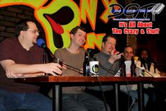 Doc's Group Therapy Comedy Podcast Debut (January 2012) - Loony Bin Comedy Club in Little Rock, Arkansas