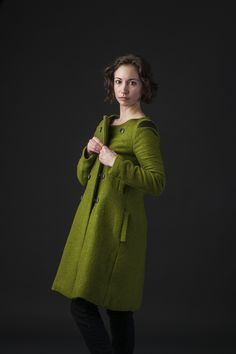 ABBY JACKET — Lillian Luvroc Welt Pocket, Double Breasted, Snug, Coat, Skirts, Sleeves, Jackets, Vintage, Fashion