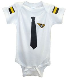 Baby pilot onesie he could look like his daddy!