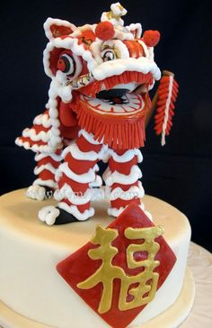 Chinese Culture Good Luck Wedding Cake