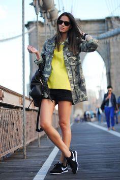 Wardrobe Essential: The Camo Jacket
