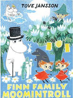 Moomin poster - Finn Family Moomintroll