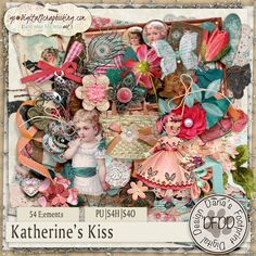 Katherine's Kiss by Dana's Footprint Digital Designs available at GDS store