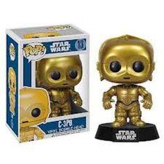 <p>Funko Star Wars C3PO</p> <p>Figura colecionável produzida pela Funko</p> <p>Importada dos Estados Unidos</p> <p>Tamanho = 10 cm de altura</p> <p>Material = Vinil</p> <p>Lacrada na Caixa</p>