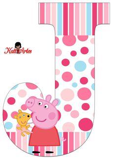 Alfabeto de Peppa Pig con Perrito. - Oh my Alfabetos!