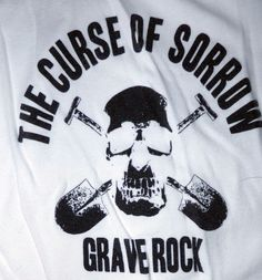 The Curse Of Sorrow Grave Rock Tank Top Size Large #Bella #GraphicTee Vintage Rock Tees, Online Price, Graphic Tees, T Shirts For Women, Tank Tops, Halter Tops, Graphic T Shirts