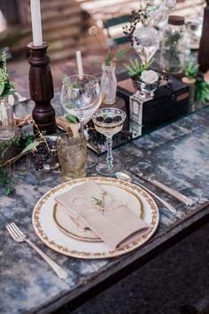 44 Refined Vintage Wedding Table Settings   HappyWedd.com