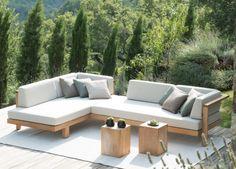 Tribu Pure Corner Garden Sofa