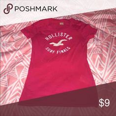 Hollister Graphic Tee Cute and comfy graphic tshirt No stains or flaws, just outgrew  Smoke free/pet free home Hollister Tops Tees - Short Sleeve