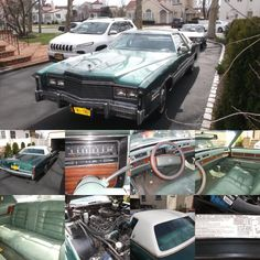 1977 Cadillac Eldorado has 37k miles with 70% of the original paint still on the car and the interior is in excellent shape with just one tear on the drivers door thats 2 inches long it runs great give us a call for more info. Price$10,495