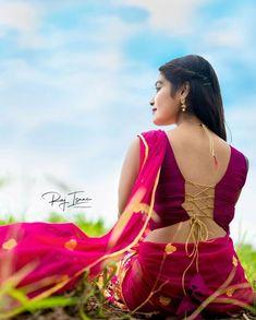 Beautiful Girl In India, Beautiful Blonde Girl, Beautiful Girl Photo, Beautiful Saree, Beautiful Songs, Indian Photoshoot, Saree Photoshoot, Most Beautiful Bollywood Actress, Bollywood Actress Hot