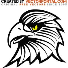 Stock graphics of an eagle.