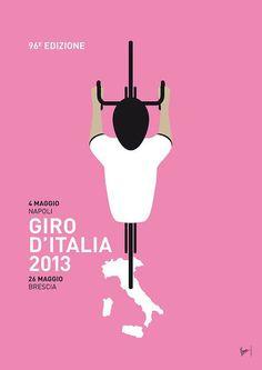My Giro d'italia Minimal poster