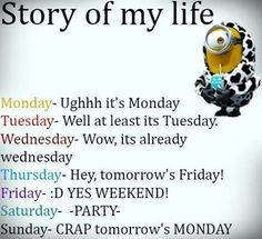 Story of life  。◕‿◕。 See my Despicable Me  Minions pins https://www.pinterest.com/search/my_pins/?q=minions