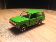 A early Range Rover from Playart, hong kong, ca 1975....rare small toy in mint condition. 1/64