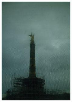 #berlin #germany #siegessäule #jürgenbürgin #scaffolding