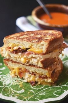 Chicken Bacon Ranch Grilled Cheese: May use GF bread if allergic or gluten-intolerant.