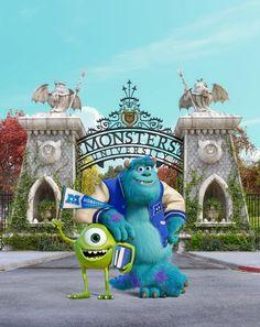 Universidade Monstros! Amei esse filme! *-*