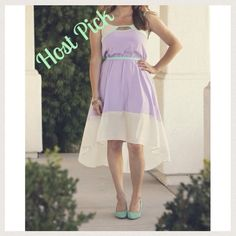 Willow and Clay Hi-Lo Cutout Trim Dress This 100% lined polyester dress is light and comfortable with adjustable strap lengths. Brand new with tags. Willow and Clay Dresses