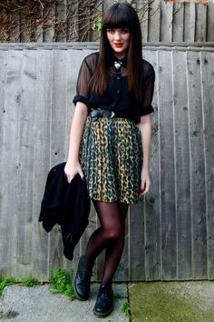Yellow-river-island-skirt-black-hm-shirt-black-doc-martens-shoes-black-vin