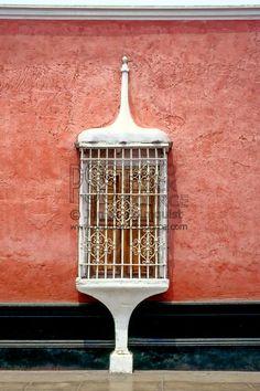 amazing window in Trujillo, Peru