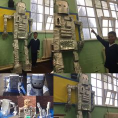 Making 'The Iron Man' from recycled materials. The classic book by Ted Hughes. Such a fun project with class 3 Maris School. Man Projects, School Art Projects, Classroom Rules, Classroom Displays, Iron Man Ted Hughes, Ks2 Display, Iron Man Art, Online Art Classes, Five In A Row