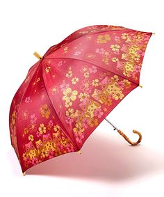 Look at this Karma Burgundy Owl Umbrella on #zulily today!
