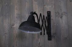 Wandlamp Harmonica zwart