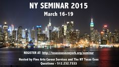 Visit http://www.utexas.edu/finearts/careers to learn more!