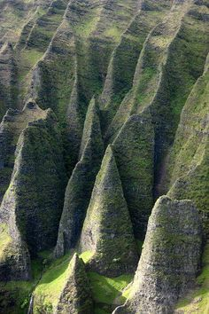 Cathedral Cliffs, Kauai Hawaii