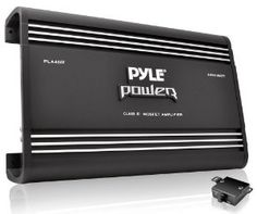 Pyle PLA4600D - 4600 Watt Monoblock Class-D Amplifier by Pyle. $176.43. From the Manufacturer                                         Advanced Protection Circuitry         view larger                               Power Series Amplifiers         view larger                               System Application Diagram         view larger                     The Strong and not so Silent Type                               Custom Terminal Block for Speaker Connections         vi...